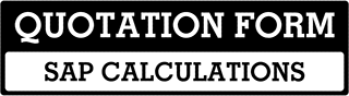 SAP Calculations Quote  For York